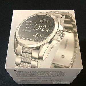 🔥🔥Michael Kors Access Bradshaw Smartwatch Silver